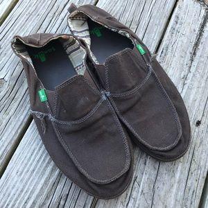 Sanuk Sidewalk Surfers- brown
